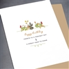 "Birthday  "" Great Year To Come ""  BD265 Greeting Card"