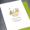 "Birthday  "" Tea Cup & Heart""  BD270 Greeting Card"