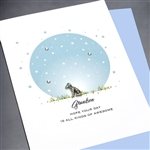 "Birthday "" Grandson ""  BD273 Greeting Card"
