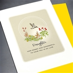"Birthday "" Daugther ""  BD274 Greeting Card"