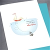 "Birthday  "" Sailboat ""  BD282 Greeting Card"