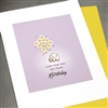 "Birthday  "" Elephant ""  BD297 Greeting Card"