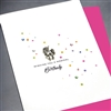 "Birthday  "" Magical Birthday ""  BD302 Greeting Card"