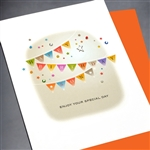 "Birthday  "" Son ""  BD323 Greeting Card"