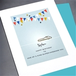"Birthday "" Nephew ""  BD332 Greeting Card"