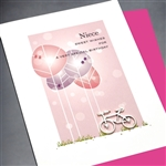 "Birthday "" Niece ""  BD333 Greeting Card"
