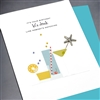 "Birthday "" Let's Drink ""  BD352 Greeting Card"