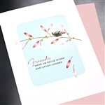 "Birthday  "" Friends Birthday ""  BD431 Greeting Card"