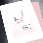 "Birthday  "" Sending Birthday Love ""  BD439 Greeting Card"