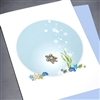"Blanks "" Turtle ""  BLK20 Greeting Card"