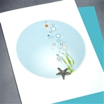"Blanks "" Starfish ""  BLK37 Greeting Card"