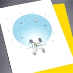 "Blanks "" Star & Crystals ""  BLK65 Greeting Card"