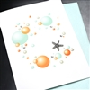 "Blanks "" Starfish ""  BLK78 Greeting Card"