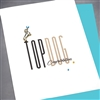 "Congratulations "" Top Dog ""  CG19 Greeting Card"