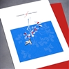 "Encouragement  "" Thinking About You "" EN14 Greeting Card"