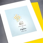 "Encouragement  "" Brighten Your Day "" EN34 Greeting Card"