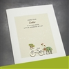 "Easter  "" Bicycle ""  ES50 Greeting Card"