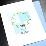 "Easter  ""  Thinking Of You ""  ES55 Greeting Card"