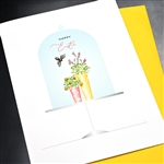 "Easter  ""  Tiny Bee ""  ES56 Greeting Card"