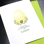 "Easter  "" Little Chick ""  ES65 Greeting Card"
