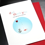 "Father' Day  "" Anchor ""  FD111 Greeting Card"