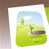 "Father Day  "" Golf Marker ""  FD28 Greeting Card"