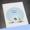 "Father Day  "" Turtle ""  FD47 Greeting Card"