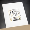 "Father Day  "" Hammer ""  FD70 Greeting Card"