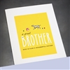 "Father Day  "" Great Brother ""  FD97 Greeting Card"