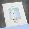 "Friendship "" Honey Bunny ""  FR102 Greeting Card"