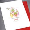 "Friendship "" Bestest Friend ""  FR104 Greeting Card"