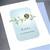 "Miss You  "" Yellow Eye ""  FR112 Greeting Card"