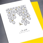 "Friendship "" Just Because ""  FR126 Greeting Card"