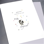 "Friendship "" Magical Unicorn ""  FR132 Greeting Card"