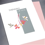 "Friendship "" Hummingbird ""  FR142 Greeting Card"
