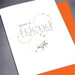 "Friendship "" Friend Like No Other ""  FR144 Greeting Card"