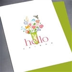 "Friendship "" Hello ... Tiny Bee ""  FR146 Greeting Card"