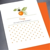 "Friendship  "" Orange ""  FR58 Greeting Card"