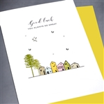 "Good Luck  "" Doing Great "" GL10 Greeting Card"