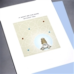 "Good Luck  "" Without You "" GL11 Greeting Card"