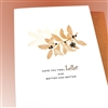 "Get Well "" Feel Better ""  GW10 Greeting Card"