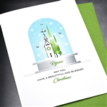 "Christmas  "" Rejoice ""  HD101 Greeting Card"