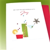 "Christmas  "" Starfish ""  HD111 Greeting Card"
