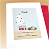 "Christmas  "" Camper, Dad ""  HD119 Greeting Card"