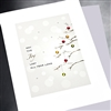 "Christmas  "" Crystal Tree ""  HD13 Greeting Card"