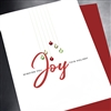 "Christmas  "" Joy ""  HD31 Greeting Card"