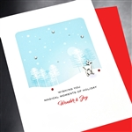 "Christmas  "" Reindeer ""  HD85 Greeting Card"