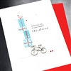 "Christmas "" Bicycle ""  HD99 Greeting Card"