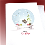 "Christmas  "" Wishes From San Diego ""  HDSD09 Greeting Card"