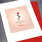 "Love  "" All I Wanted ""  LV118 Greeting Card"